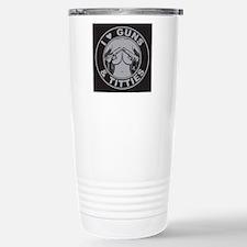 I love guns Titties Travel Mug