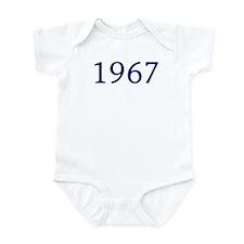 1967 Infant Bodysuit