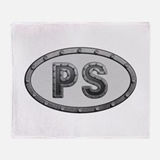 PS Metal Throw Blanket