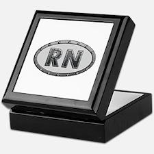 RN Metal Keepsake Box