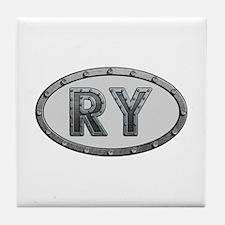 RY Metal Tile Coaster
