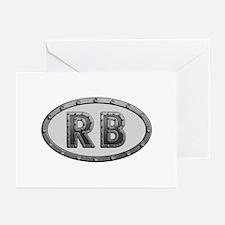 RB Metal Greeting Card 20 Pack