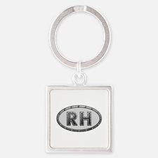 RH Metal Square Keychain
