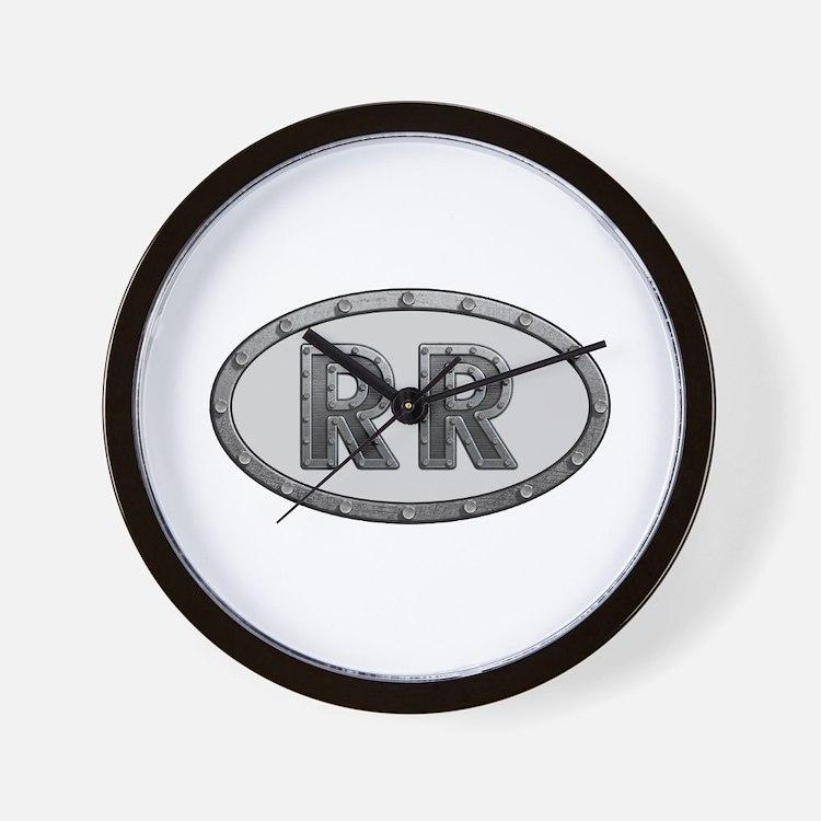 RR Metal Wall Clock