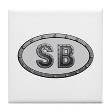 SB Metal Tile Coaster