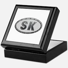 SK Metal Keepsake Box