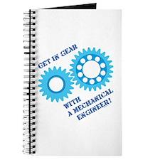 Blue Get In Gear Journal