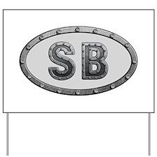 SB Metal Yard Sign