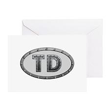 TD Metal Greeting Card