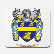 Nichol Coat of Arms (Family Crest) Mousepad