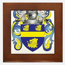 Nichol Coat of Arms (Family Crest) Framed Tile