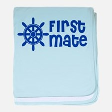 First Mate baby blanket