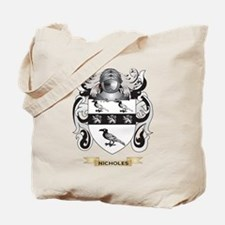 Nicholes Coat of Arms (Family Crest) Tote Bag