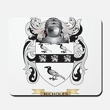 Nicholes Coat of Arms (Family Crest) Mousepad