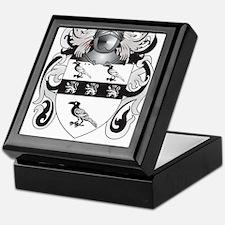 Nicholes Coat of Arms (Family Crest) Keepsake Box