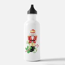 christmas nutcracker h Water Bottle
