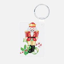 christmas nutcracker holly Keychains