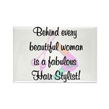 SIZZLING STYLIST Rectangle Magnet