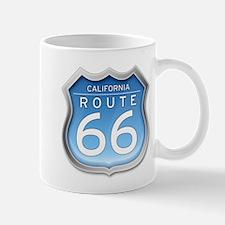 California Route 66 - Blue Mugs