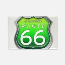 California Route 66 Green Magnets