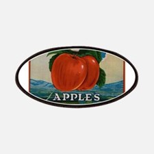Vintage Fruit Vegetable Crate Label Patches