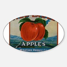 Vintage Fruit Vegetable Crate Label Decal