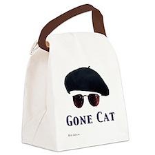 Cute Cat womens Canvas Lunch Bag