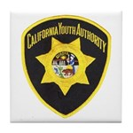 California Youth Authority Tile Coaster