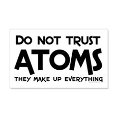 Trusting Atoms Text Wall Decal