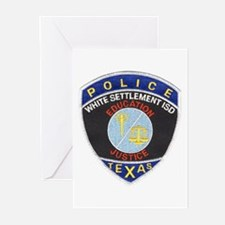 White Settlement ISD PD Greeting Cards (Package of