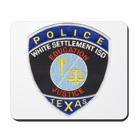 White Settlement ISD PD Mousepad