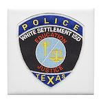 White Settlement ISD PD Tile Coaster