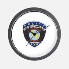 White Settlement ISD PD Wall Clock