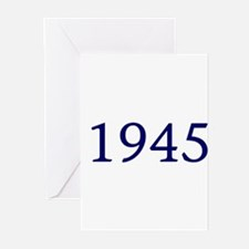 1945 Greeting Cards (Pk of 10)