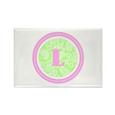 Paisley Rectangle Magnet