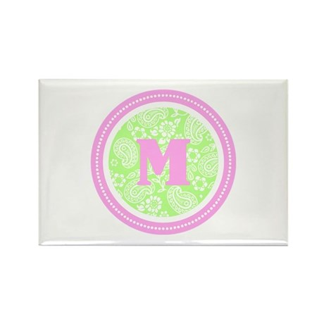 Paisley Rectangle Magnet (100 pack)