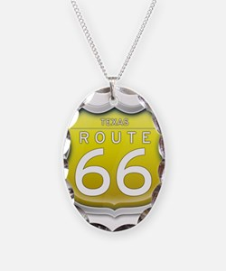 Texas Route 66 - Yellow Necklace
