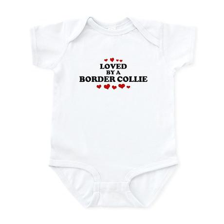 Loved: Border Collie Infant Bodysuit