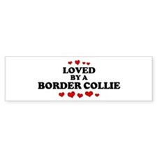 Loved: Border Collie Bumper Stickers