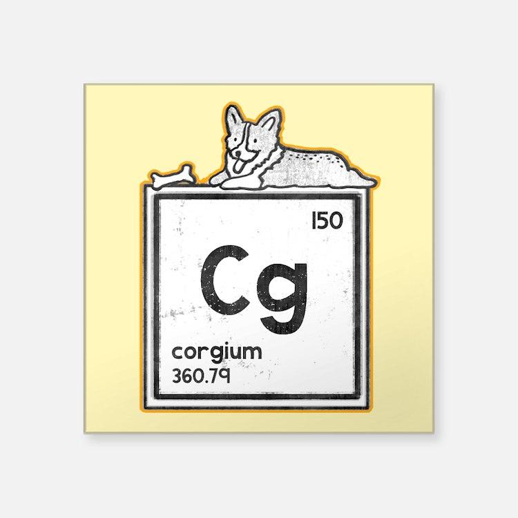 Corgium - Sticker