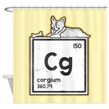 Corgium - Shower Curtain