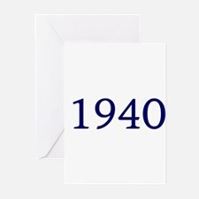 1940 Greeting Cards (Pk of 10)