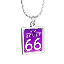 Texas Route 66 - Purple Necklaces