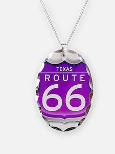 Texas Route 66 - Purple Necklace