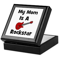 Mom Is A Rockstar! Keepsake Box