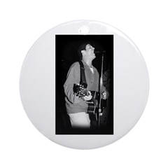 Mike Singing Ornament (Round)