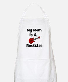 Mom Is A Rockstar! BBQ Apron