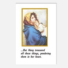 Pondering these things Postcards (Package of 8)