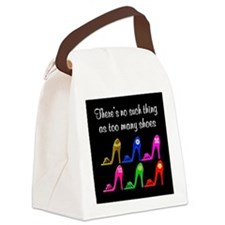 SIZZLING SHOES Canvas Lunch Bag