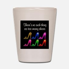 SIZZLING SHOES Shot Glass
